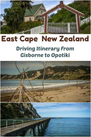 East Cape New Zealand - a driving itinerary from Gisborne to Opotiki