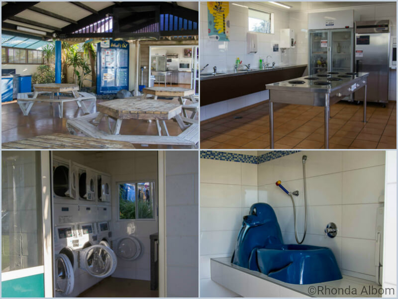 Facilities at Papamoa Beach Resort in New Zealand