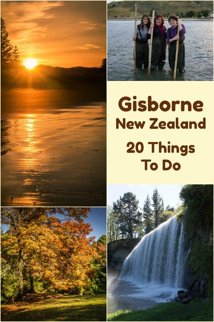 The first place in the world to see each new day is Gisborne New Zealand. After #sunrise, some of the best things to do in #Gisborne include #hiking, relaxing in #hotpools, hand feeding #stingrays, walking through the national arboretum, sliding down a natural #rockslide, or learning about the local #Maori culture. #Travel in #NewZealand