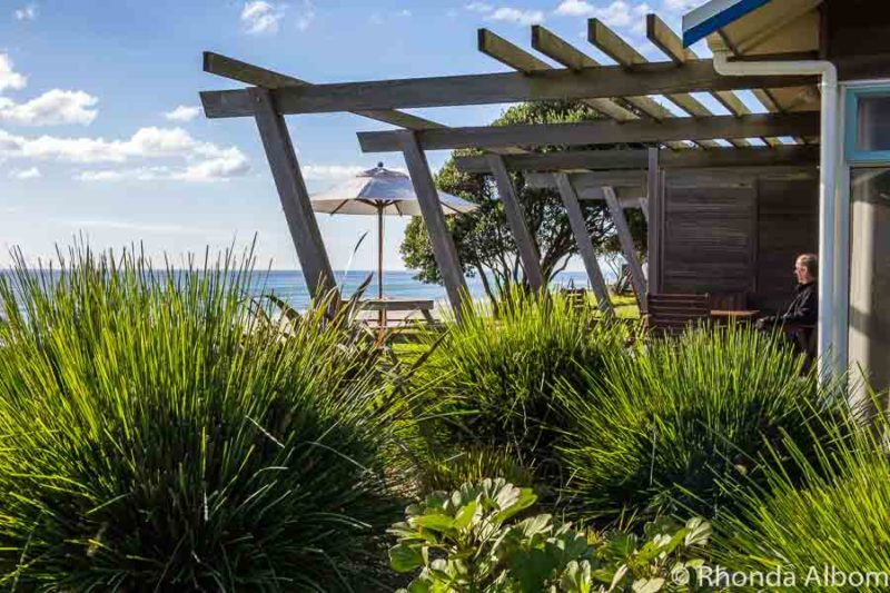 Beachfront villa at Papamoa beach New Zealand