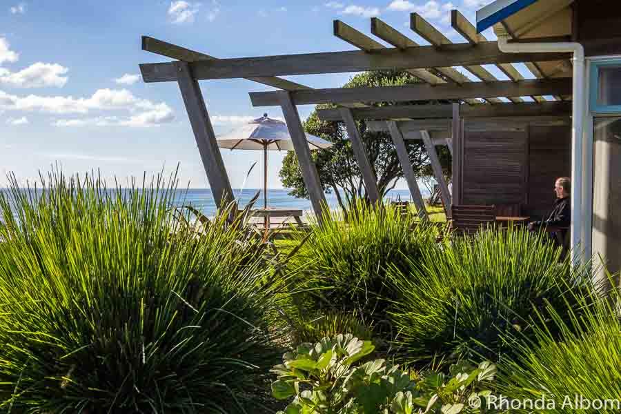 Beachfront villa at Papamoa beach New Zealand