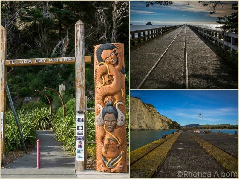 Tolaga Bay Wharf in New Zealand
