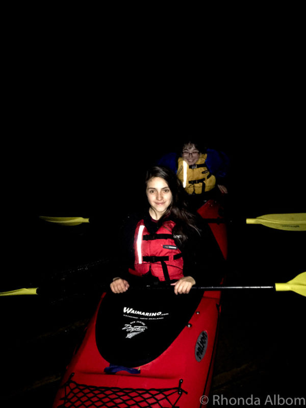 Night tour - kayak Tauranga