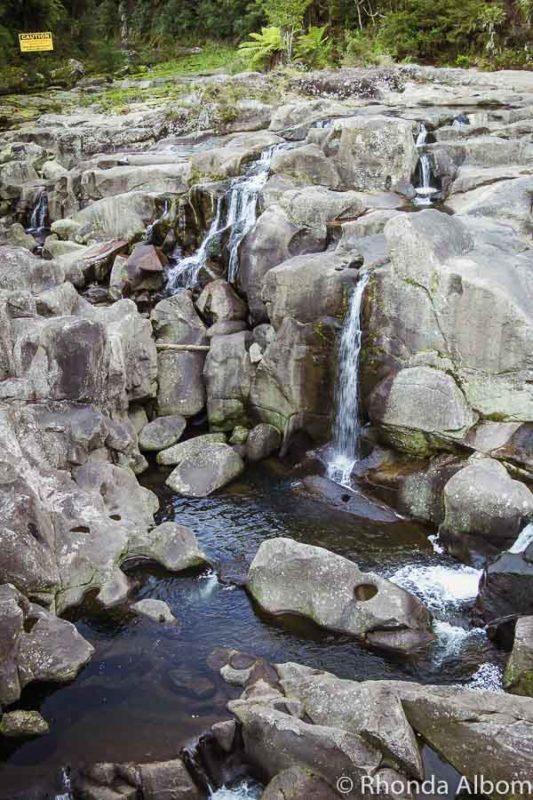 McLaren Falls in Bay of Plenty New Zealand