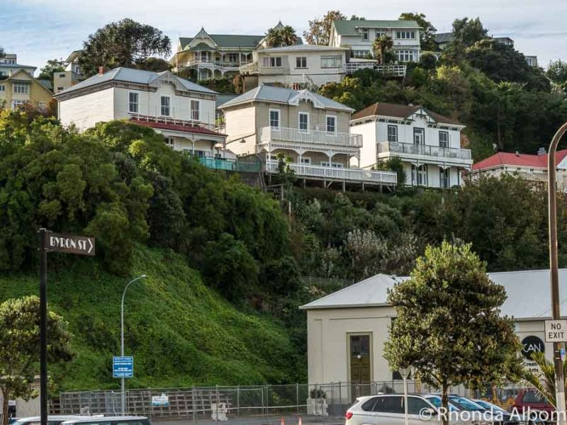Houses that survived the 1931 quake in Napier New Zealand