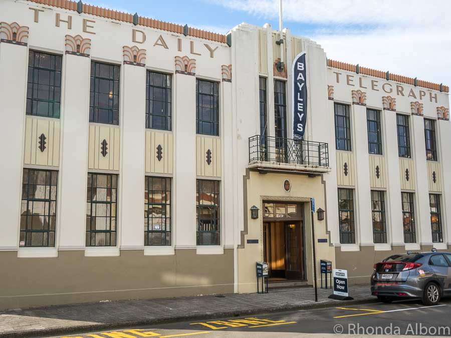 Napier art deco buildings, New Zealand