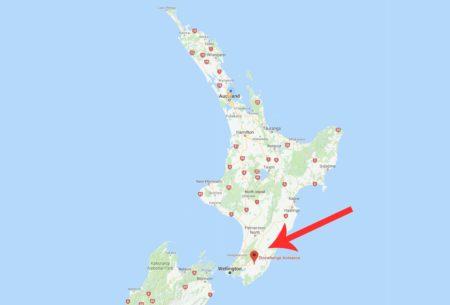 Stonehenge Aotearoa Map