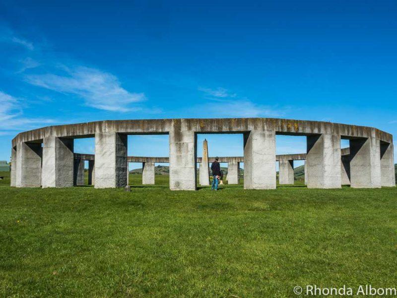 Stonehenge Aotearoa, a stone circle in New Zealand