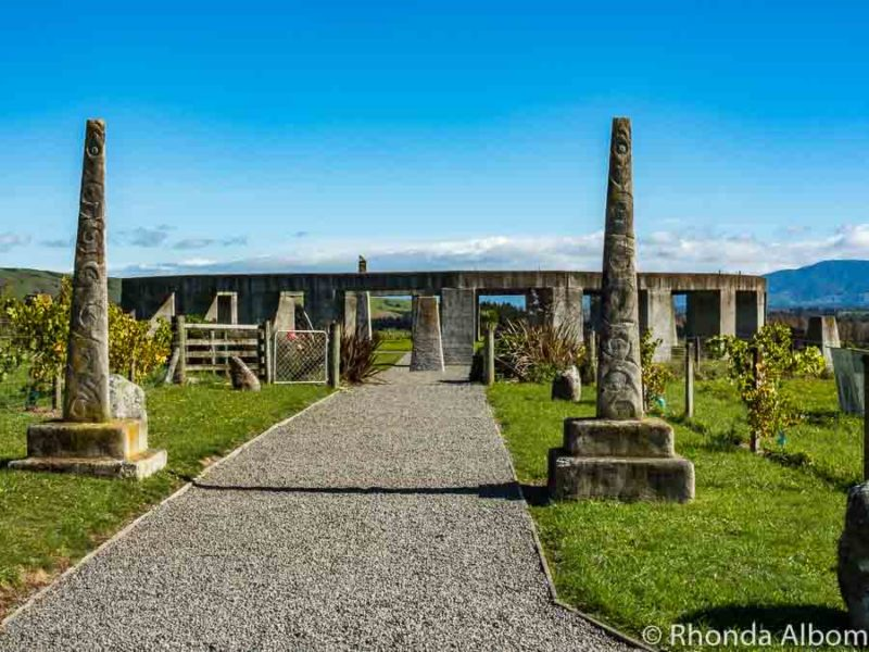 Sun Gate at Stonehenge New Zealand located in Carleton