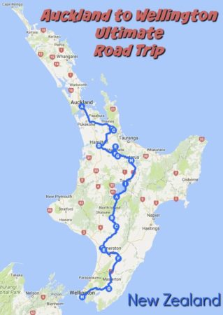 Where Is Wellington New Zealand On The Map.Enjoy An Auckland To Wellington Drive With These Stops Albom