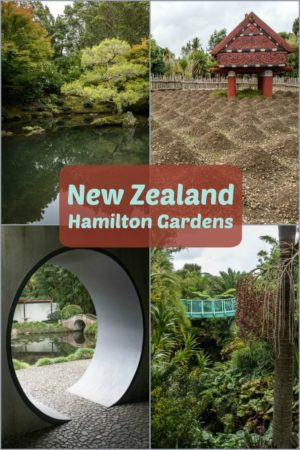 Award-winning themed Hamilton Gardens are one of the key things to see in Hamilton New Zealand