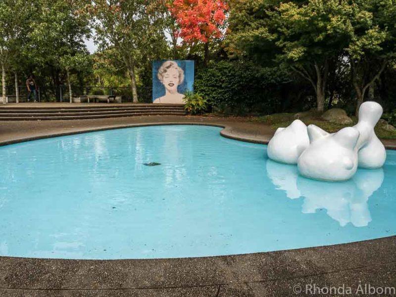 Modernist Garden, Hamilton Gardens, NZ