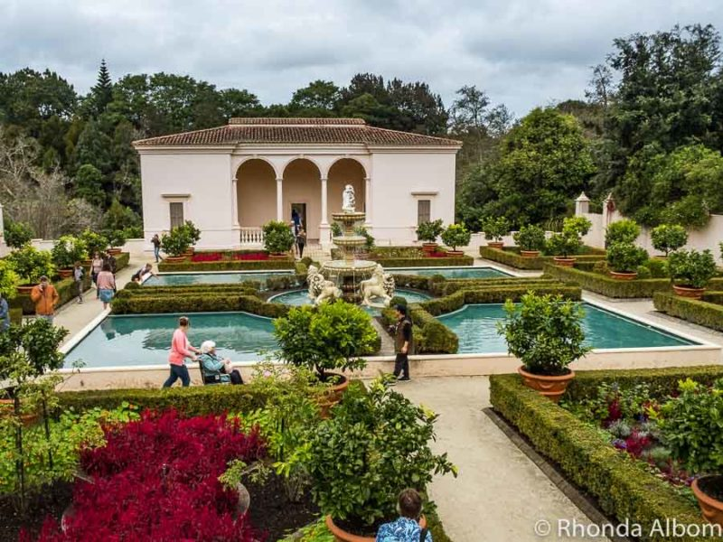 Italian Renaissance Garden, Hamilton Gardens, Hamilton New Zealand