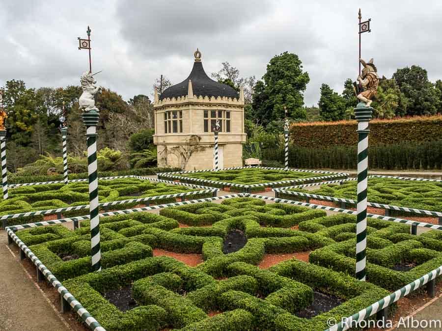 Tudor Garden, Hamilton Gardens, Hamilton New Zealand