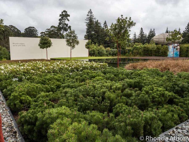 Concept Garden, Hamilton Gardens, Hamilton New Zealand