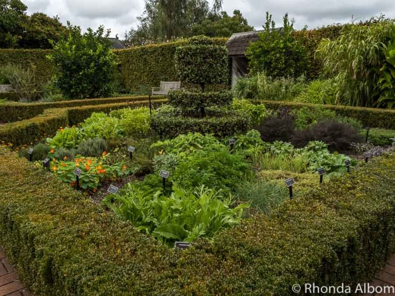 Kitchen Garden, in the Hamilton Botanical Gardens, Hamilton New Zealand