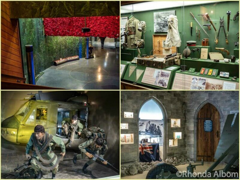 National Army Museum in Waiouru is a central stop on a New Zealand Travel itinerary from Auckland to Wellington