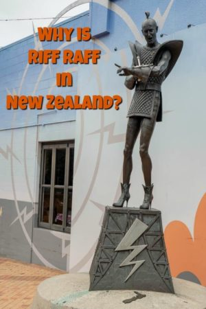 Visiting Riff Raff Square (Rocky Horror Picture Show) is one of the key things to do in Hamilton New Zealand