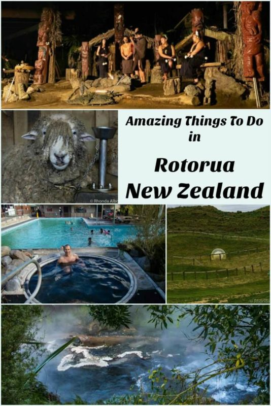 Geothermal activity, adventure sports, farm tours and relaxing spas - Rotorua New Zealand has it all.