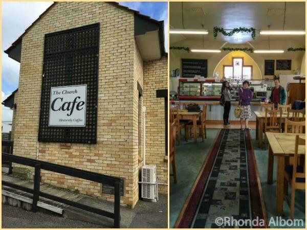 Church Cafe in Sanson New Zealand