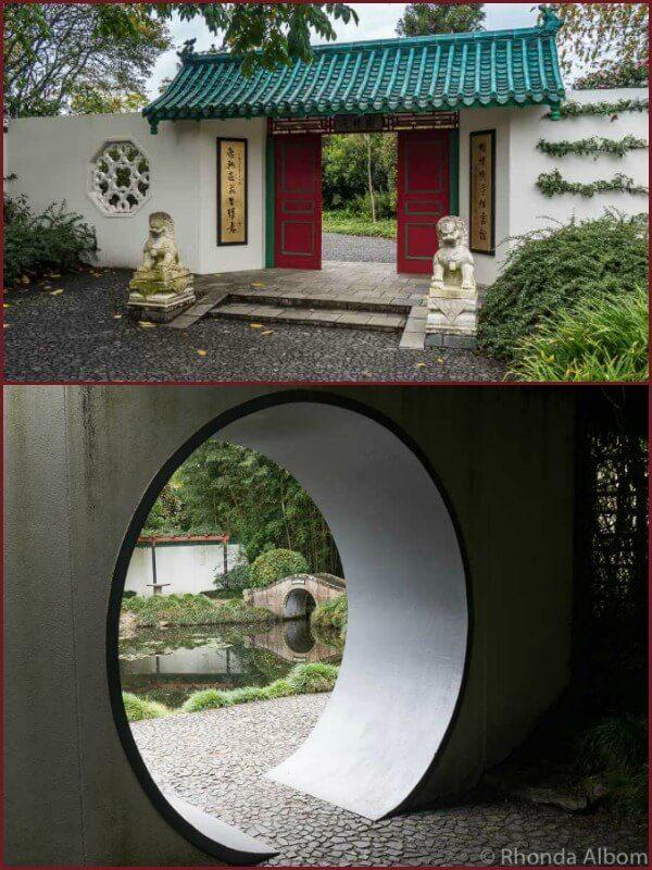 Chinese Scholars Garden, Hamilton Gardens, New Zealand