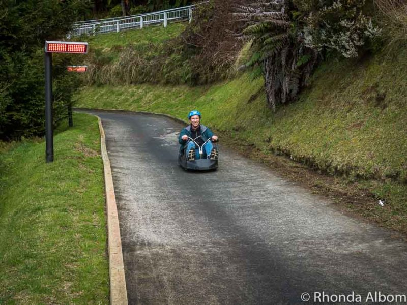 Wondering what to do in Rotorua New Zealand - check out Skyline Luge