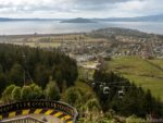 View from the top of the gondola in Rotorua New Zealand