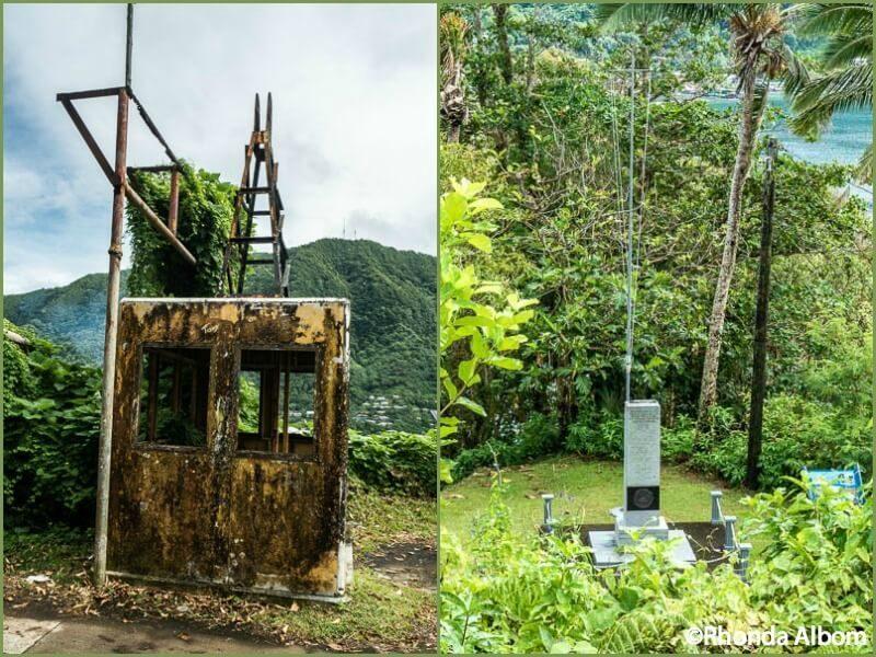 Abandon Aerial Tramway car in American Samoa