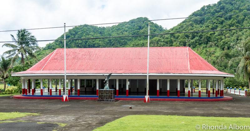 Fale in American Samoa