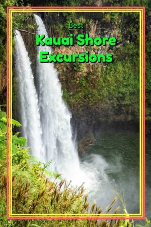 Arriving Kauai Hawaii via cruise ship? Here is a list of the island highlights along with several shore excursion options