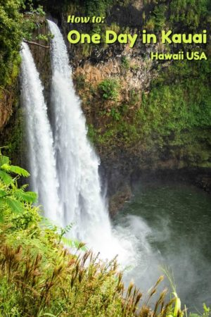 Have only one day to spend on Kauai? Here is a list of the island highlights.