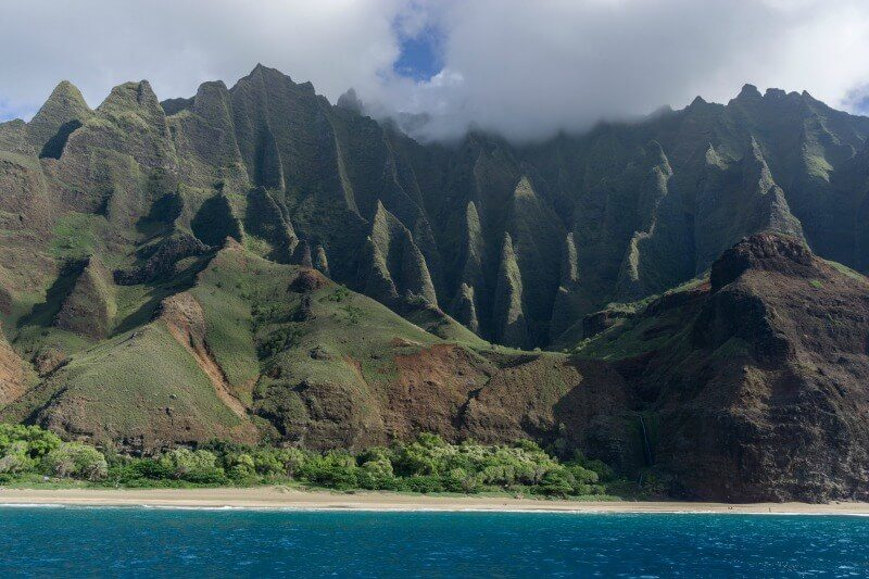 Napoli Coast Kauai Hawaii photo by Joey Doll