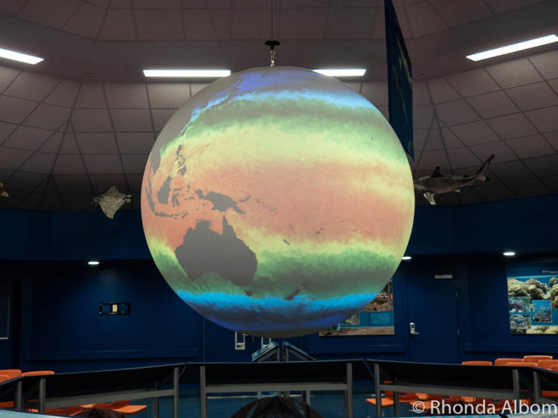 Science on a Sphere at the Ocean Center in Pago Pago American Samoa