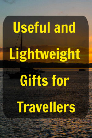 Useful and lightweight gifts for travelers