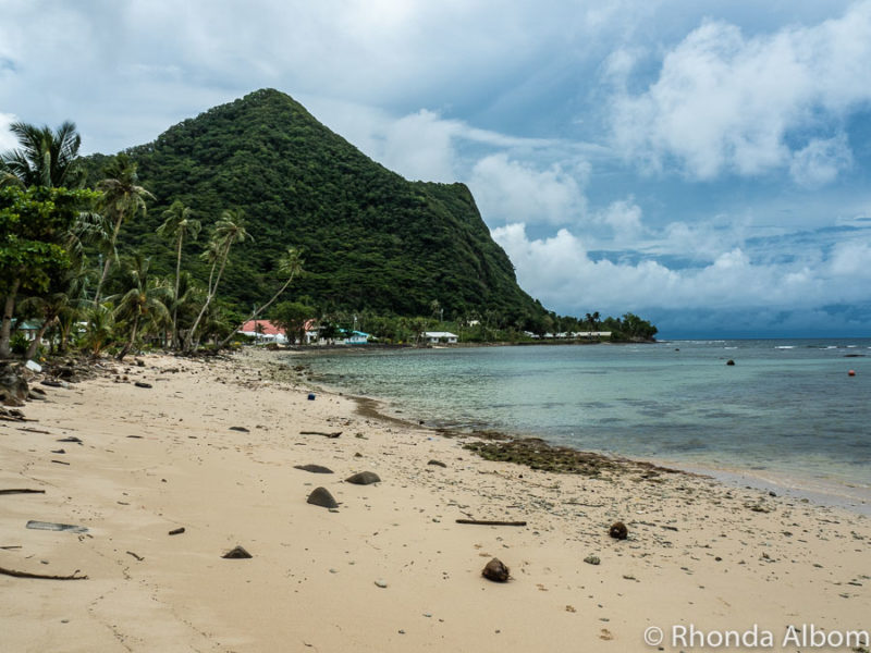 Vatia is a beach front village inside the National Park of American Samoa