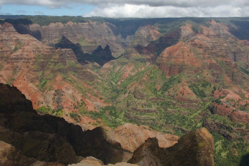 Waimea Canyon photo by Mary and Andrew
