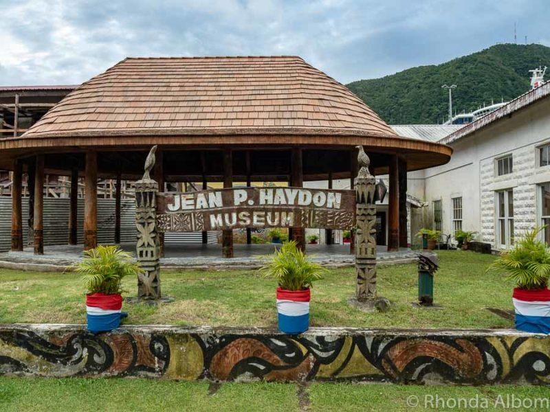 Jean P Haydon Museum in Pago Pago American Samoa