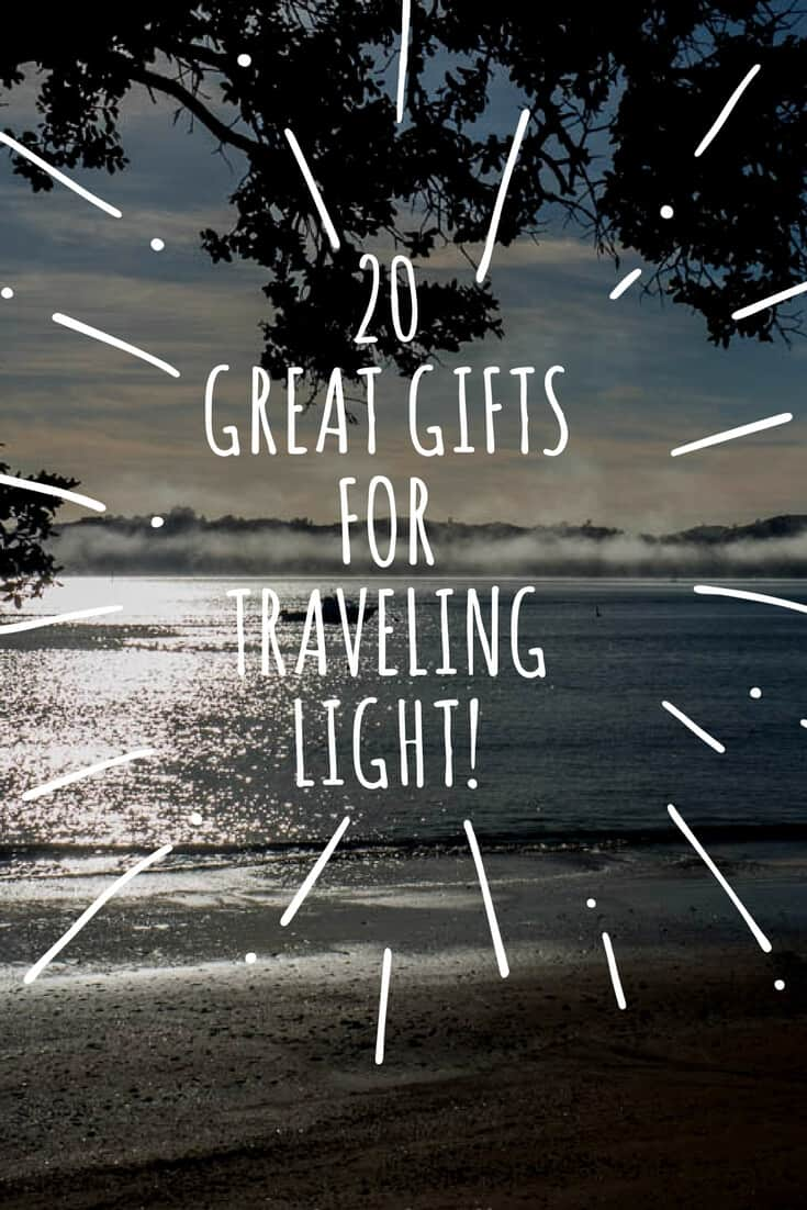 Finding a perfect gift is never easy, but when your recipient travels light, useful travel gifts that are lightweight, compact and practical, are critical. Read the articles to see what we use.