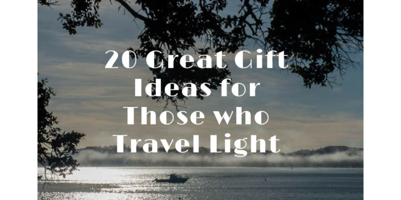 20 Great Gift Ideas for Those who Travel Light (1)