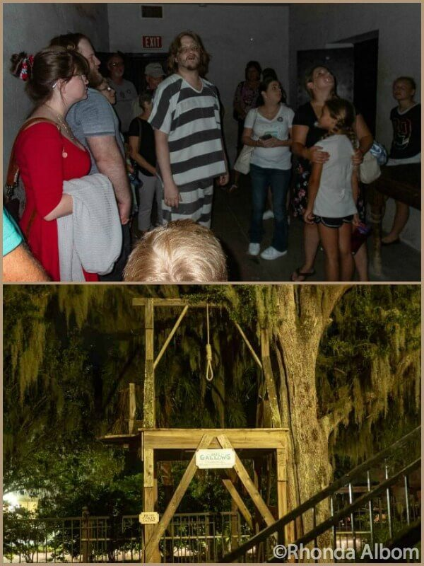 Old Jail in St Augustine Florida during Ghosts and Graveyards tours