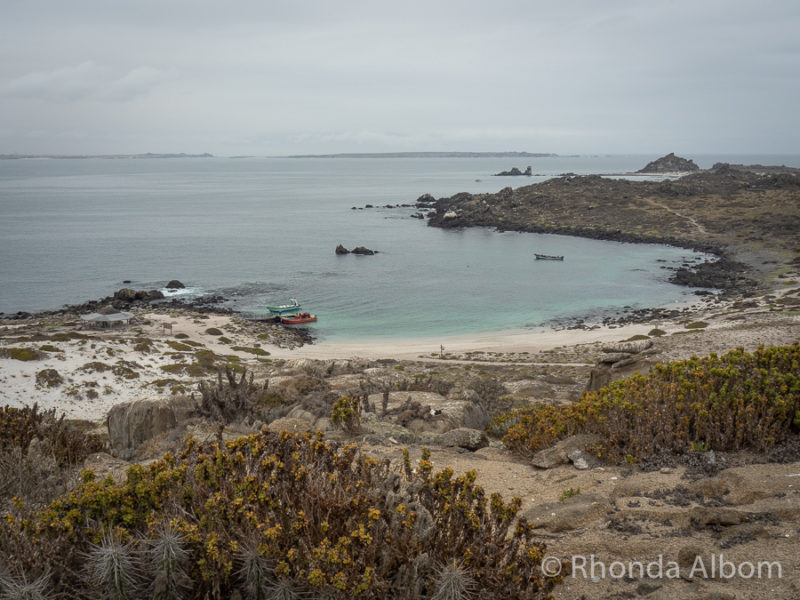 Isla Damas beach, part of the Humboldt Penguin National Reserve of Chile