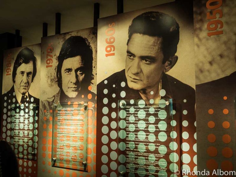 Johnny Cash Museum in Nashville Tennessee