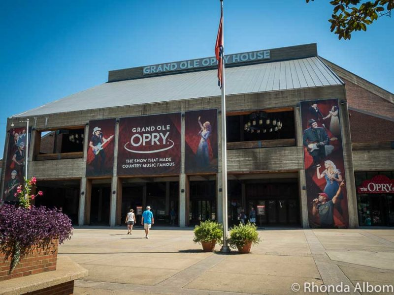 The Grand Ole Opry in Nashville, Tennessee