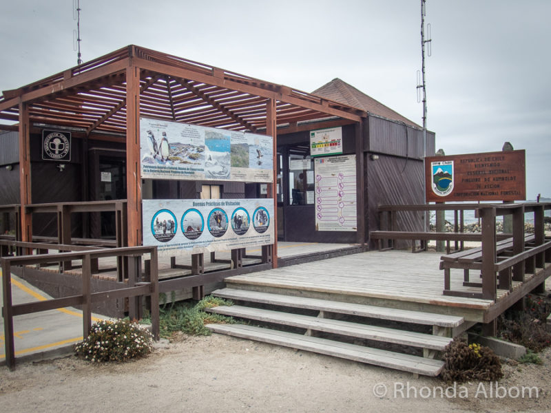 Ticket booth for the boats to Isla Damas in Chile