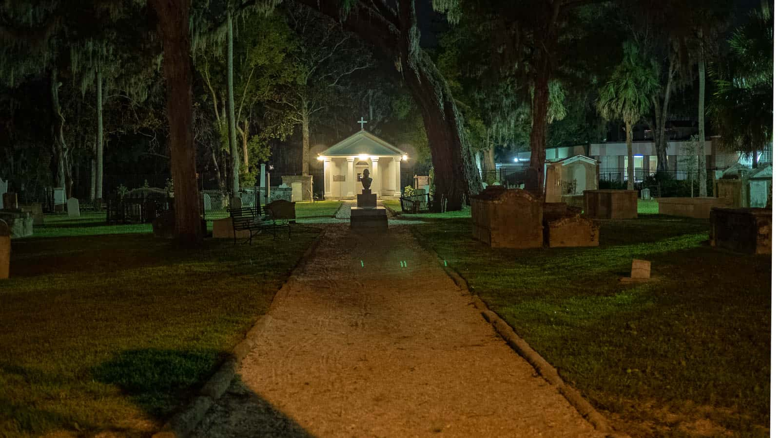 Tolomato Cemetery at the Catholic Church St Augustine Florida