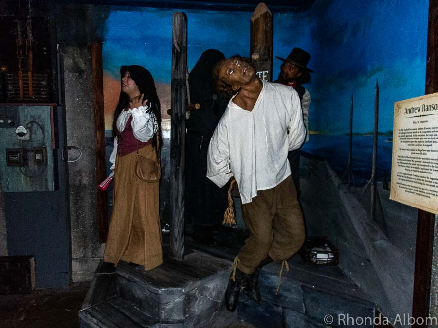 Potter's Wax Museum in St Augustine Florida