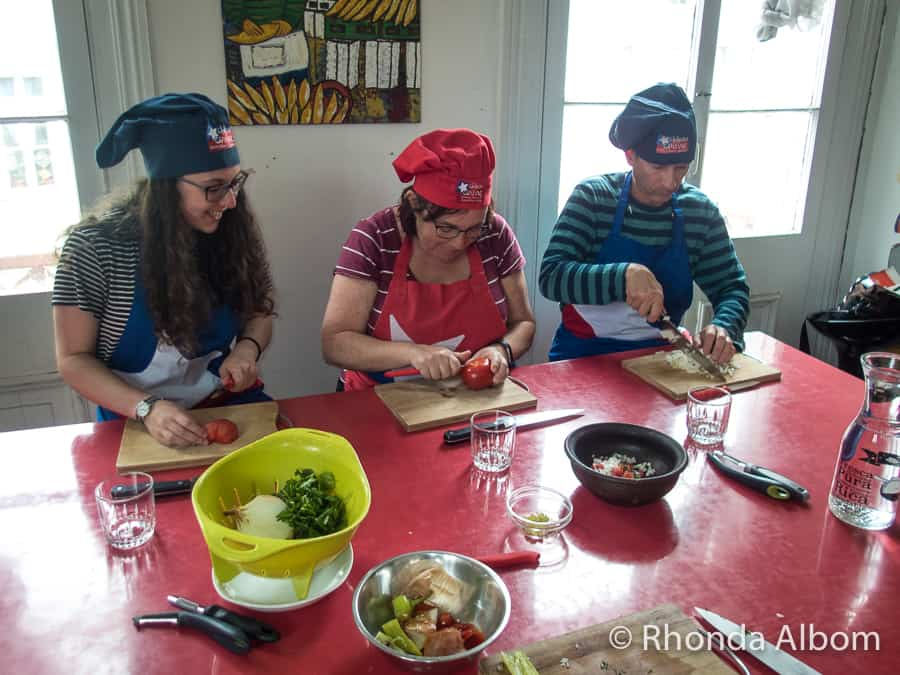 Chilean Cuisine Cooking Class in Valparaiso, Chile
