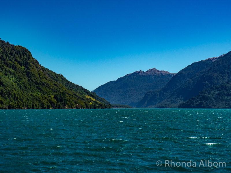 Lago Todos Los Santos in Chile on Cruce Andino