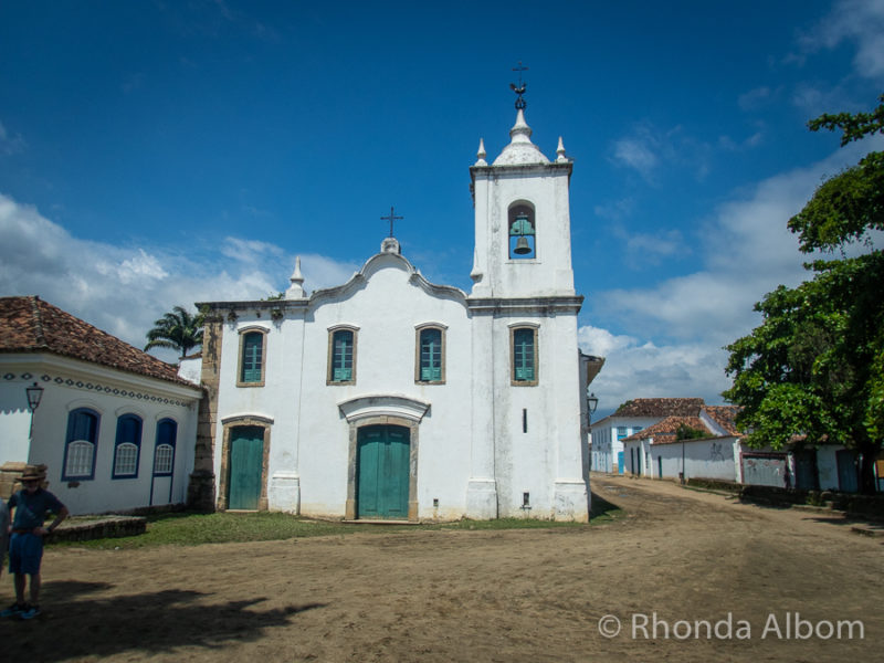 Our Lady of Sorrows Church in Paraty Brazil