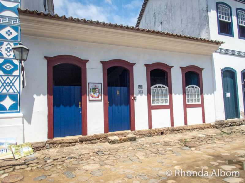 Houses in Paraty Brazil